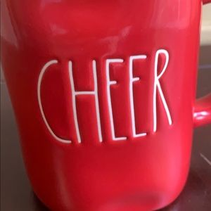 Rae Dunn Holiday - Red CHEER Rae Dunn Christmas Mug NWT